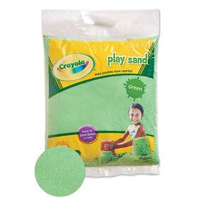 Crayola - Sable pour jouer coloré 9 kg - Vert
