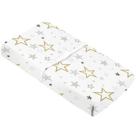 "Change Pad Cover - Golden Stars 3"""