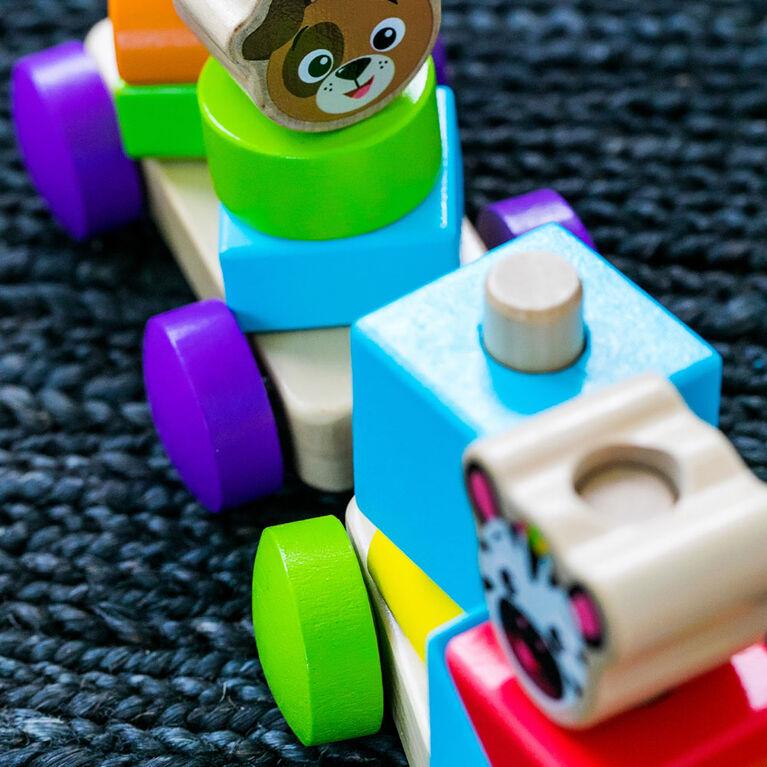 Baby Einstein Discovery Train Wooden Toy