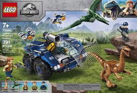 LEGO Jurassic World L'évasion du Gallimimus et du Ptéranodon 75940