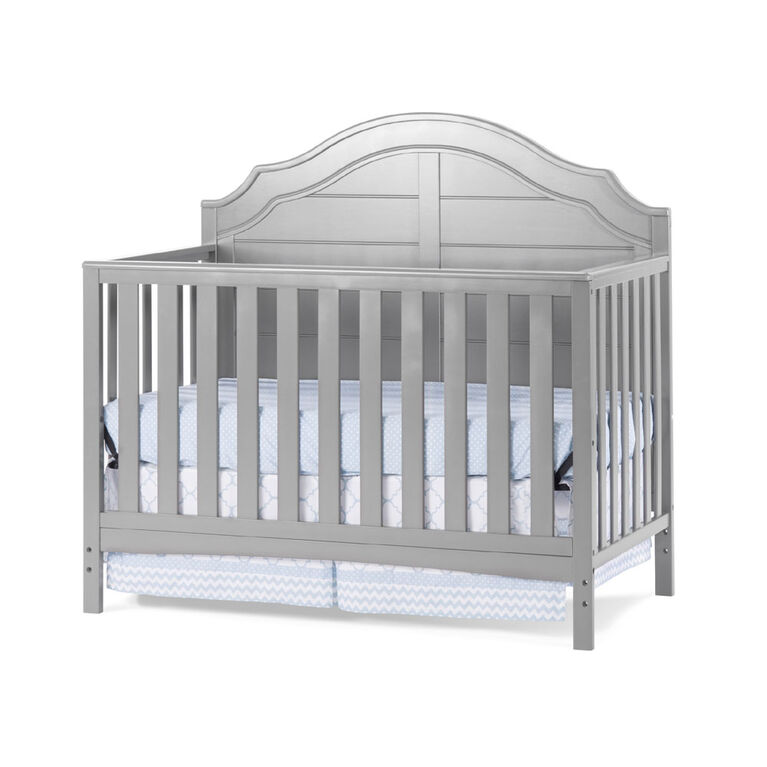 Child Craft Penelope 4 In 1 Convertbile Crib Cool Gray