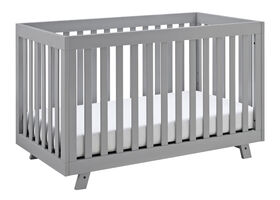 Beckett 3-in-1 Convertible Crib - Pebble Gray Storkcraft.