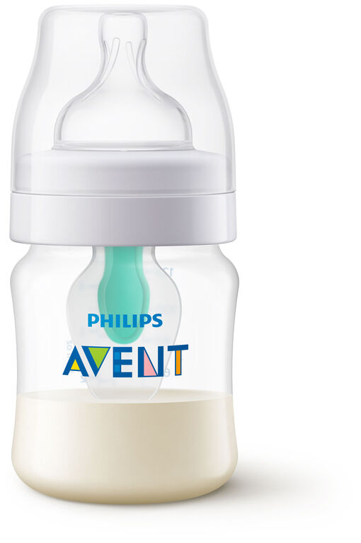 Philips Avent Anti-colic Baby Bottles with AirFree Vent 4oz, 1-Pack