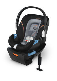 Cybex Aton 2 Infant Car Seat with SensorSafe, Pepper Black
