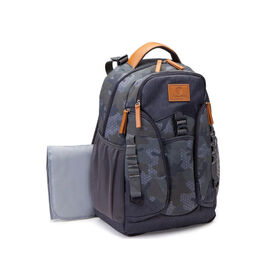 Jeep Adventurers Backpack Diaper Bag - Camo Crosshatch