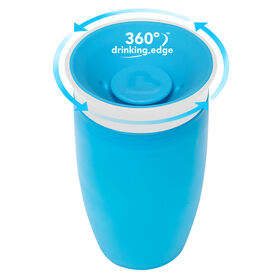 Munchkin – Tasse anti-gouttes Miracle 360° Sippy Cup - Bleue.