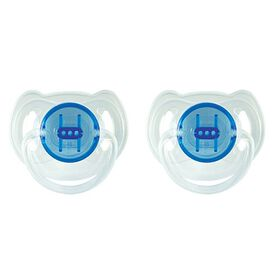 Philips AVENT - BPA Free Translucent Pacifiers, Toddler, 6-18 Months, 2-Pack, Blue