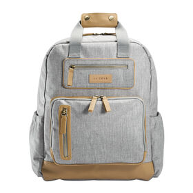 JJ Cole Papago Pack Backpack Diaper Bag - Light Heather Grey