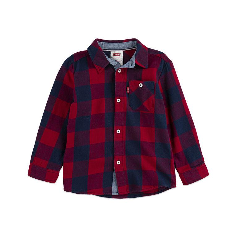 Levis Shirt - Blue, 12 Months