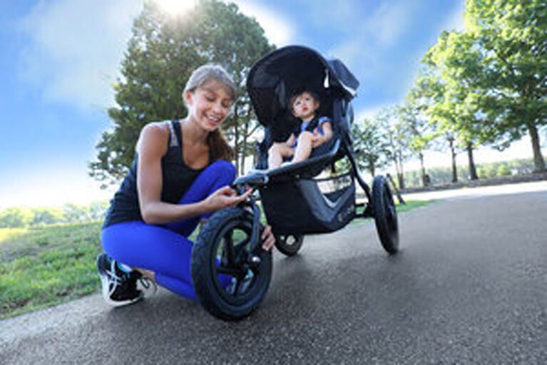 BOB Gear Revolution Flex 3.0 Jogging Stroller, Graphite Black