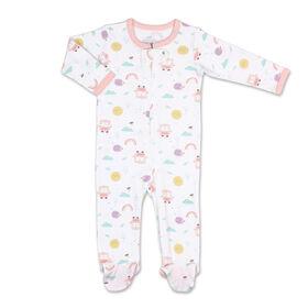 Koala Baby Almanac Girl Print Zip-Front Sleeper, 6-9 Months