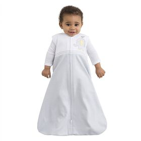 Halo SleepSack Wearable Blanket 100% Cotton - Gray Elephant (Medium)