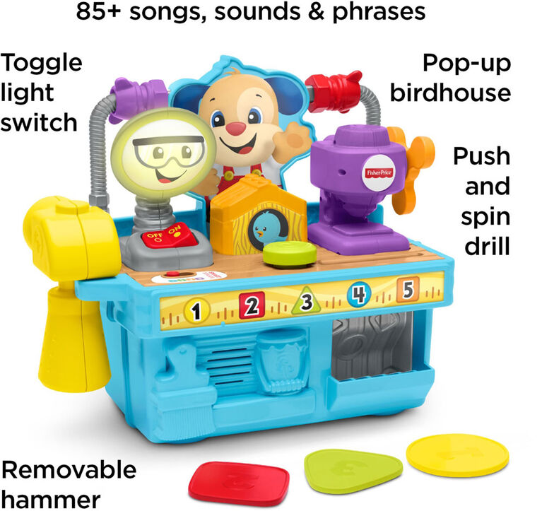 Fisher-Price Laugh & Learn Busy Learning Tool Bench