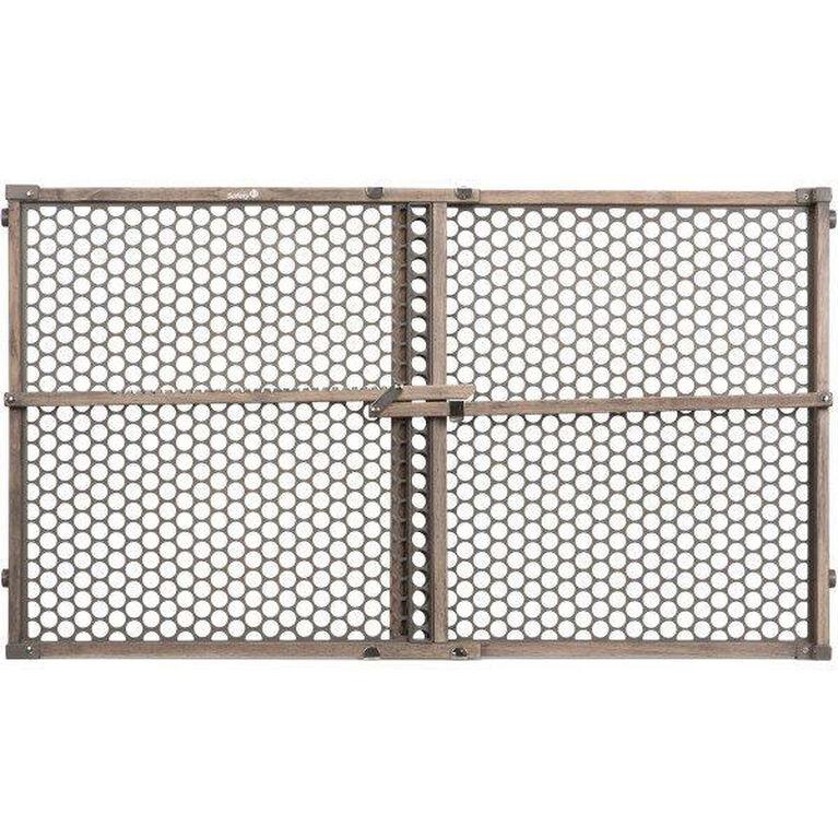 Safety 1st Wood Security Gate - Vintage Grey