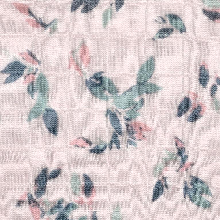 Sleepbag-Bamboo Muslin-Allover Leaves (1 Tog) 18-36 Months