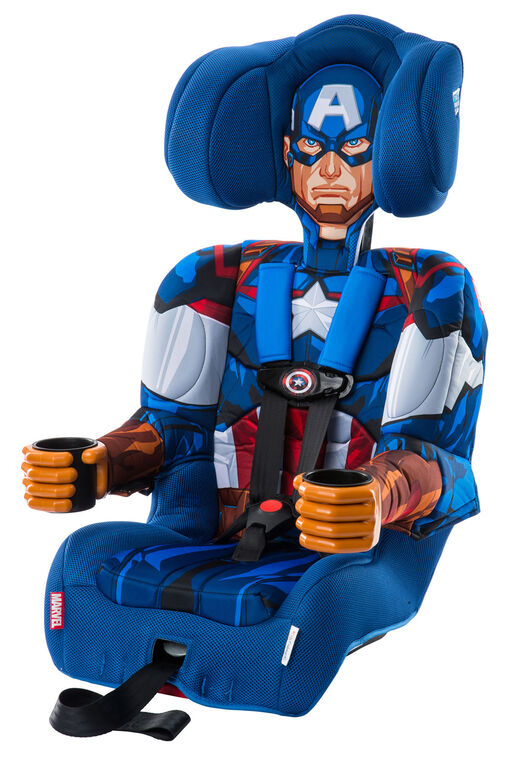 KidsEmbrace Friendship Combination Booster Car Seat - Captain America