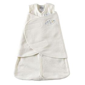 HALO SleepSack Swaddle Micro-Fleece - Cream - Small