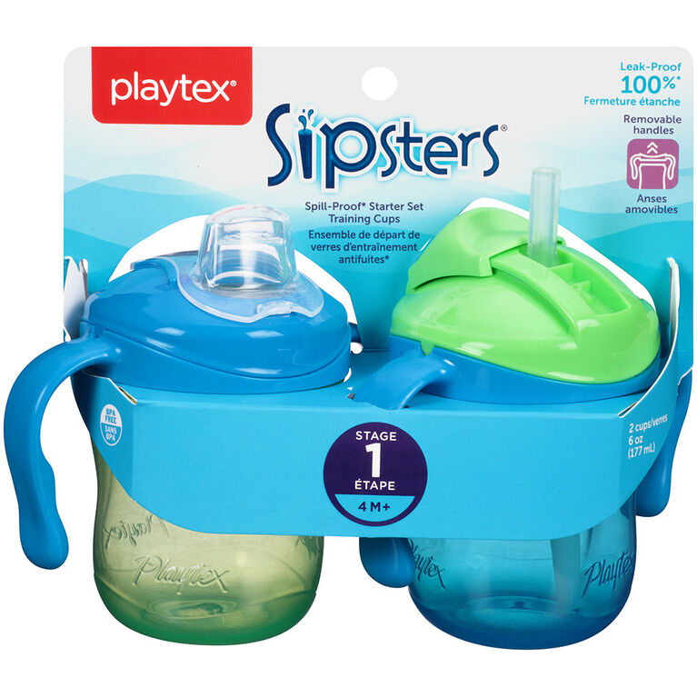 Playtex - TrainingTime Starter Set - Green/Blue