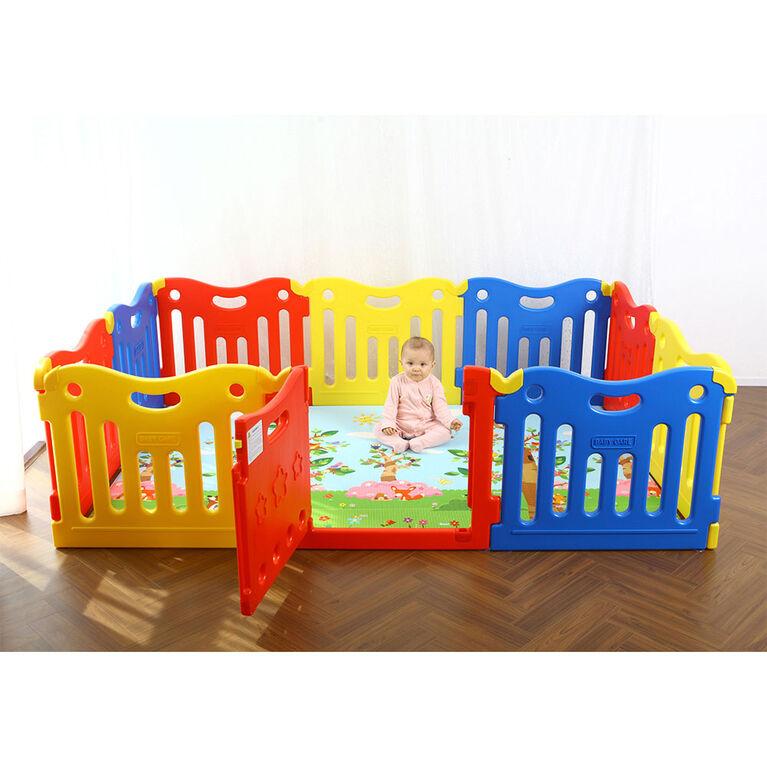 BabyCare Funzone Playpen - Vivid