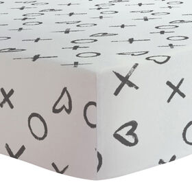 Kushies - Change Pad Cover - Black XO