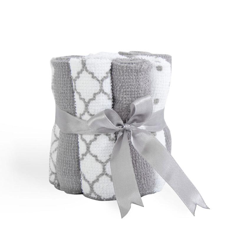 KidiComfort paquet de 12 Debarbarbouillettes - gris.