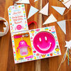 Munchkin- Be Happy Toddler Dining Set - Pink - English Edition