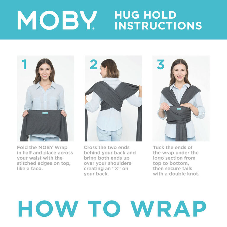 MOBY - Classic Wrap - Stone Grey