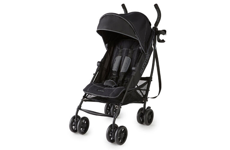 Summer Infant 3Dlite+ Ultimate Convenience Stroller - Matte Black  <br>