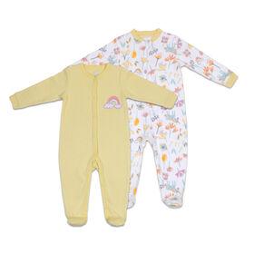 Koala Baby 2-Pack Sleeper - Rainbow, Preemie