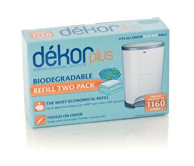 Diaper Dekor - Plus 2 Pack Refill Biodegradable