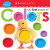 Scholastic Early Learners: My First Book