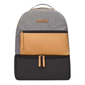 Petunia Pickle Bottom - Axis Backpack in Camel / Graphite - Sac à dos à langer