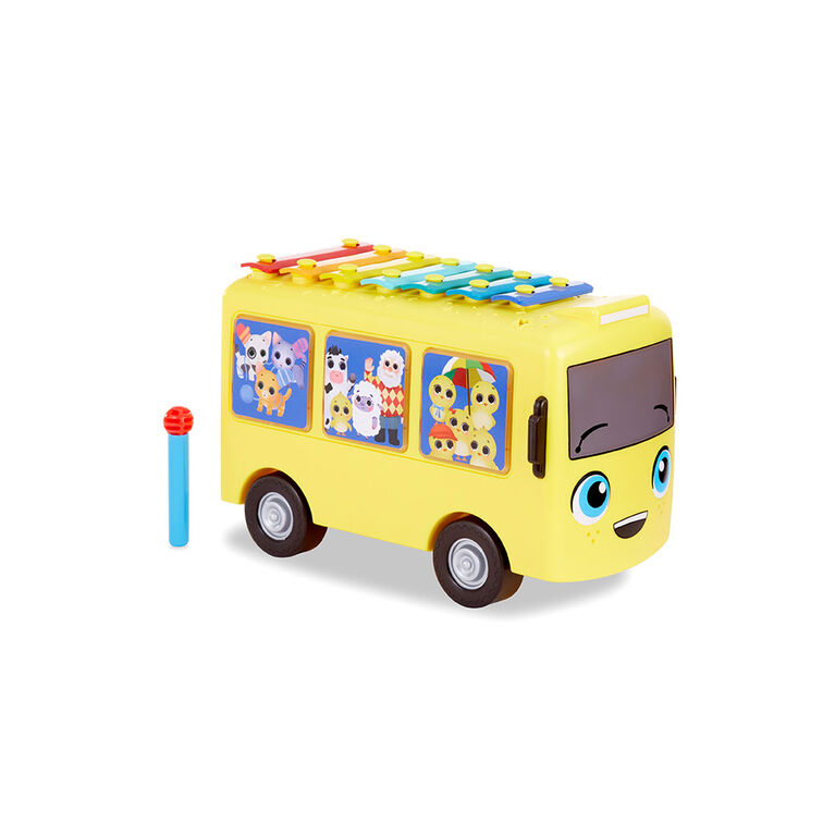 Little Baby Bum 3-in-1 Music Bus with Songs, Xylophone and Push Vehicle