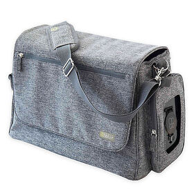 bblüv Ultra Diaper Bag - Heather Grey