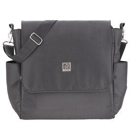 Sac à couches 2-en-1 sac à dos/sac à bandoulière de Ryco – BNB Noir.