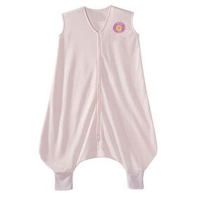 HALO SleepSack Early Walker - Pink Flower– Lightweight Knit - Large