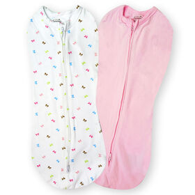 Summer Infant SwaddleMe Pod - Baby Bows