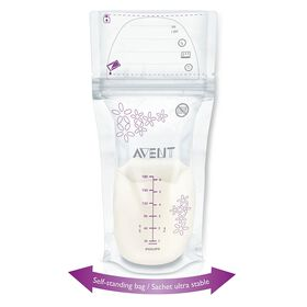 Philips AVENT - 6 oz/180mL Breast Milk Storage Bags, 25 count