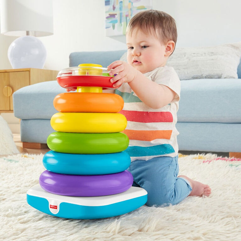 Fisher-Price Giant Rock-A-Stack