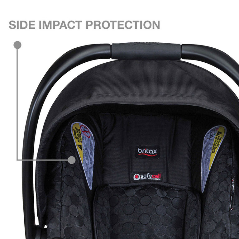 Britax B-Safe Ultra Infant Siège Voiture Bébé Enfant Sécurité Midnight NEUF