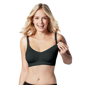 Bravado Designs Body Silk Seamless Nursing bra - Black, Medium
