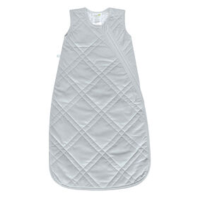 Sleepbag-Velour-Grey (2,5 Togs) - 6-18 Months