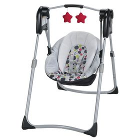 Graco Slim Spaces Compact Baby Swing - Etcher - R Exclusive