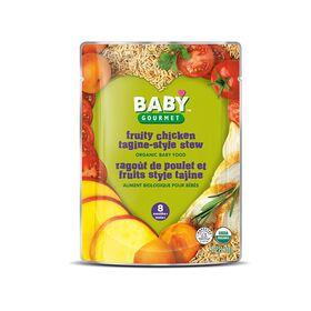Baby Gourmet Ragoût de poulet et fruits style tajine.