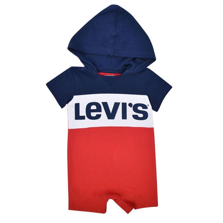 Levis Romper - Navy, 3 Months
