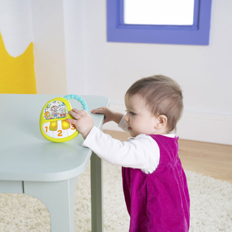 Bright Starts TropiKeys On-the-Go Piano Toy