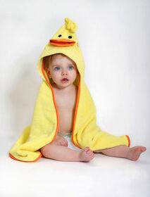 Serviette bébé Zoocchini - Puddles le canard.