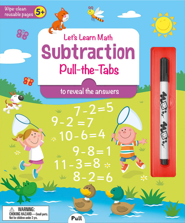I Can Do It! Subtraction Wipe Clean - Édition anglaise