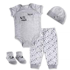 Baby Essentials Little Bear Cub - Layette 4 pièces
