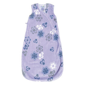 Perlimpinpin Plush sleep bag 1,5 TOG- Flowers, 0-6 Months